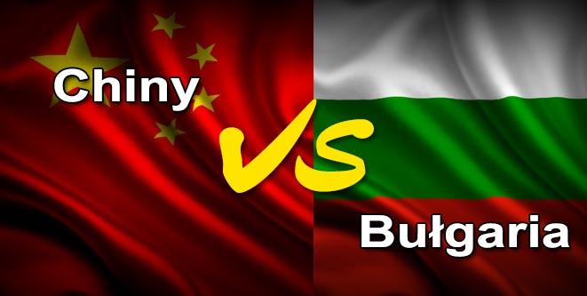 Bułgaria Chiny