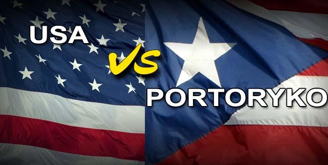 Photo of Spacerek Amerykanów w meczu z Portoryko