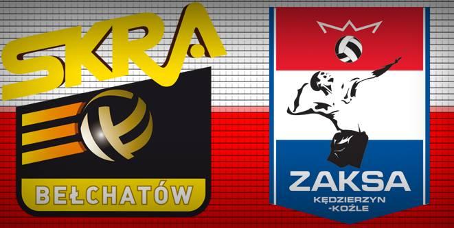 Skra Bełchatów vs Zaksa Kędzierzyn-Koźle