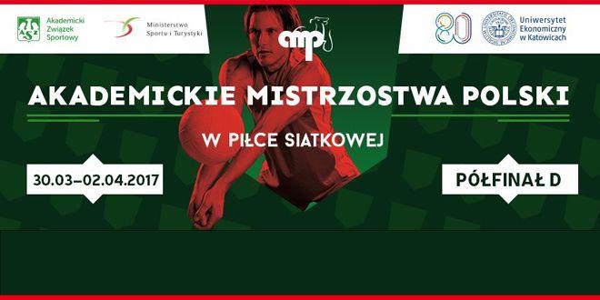 Photo of Akademickie Mistrzostwa Polski w Piłce Siatkowej Mężczyzn – Półfinał D