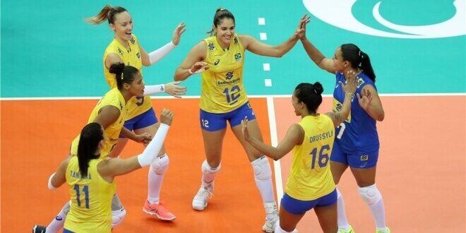 Photo of Brazylia ze złotem, Natalia z tytułem MVP