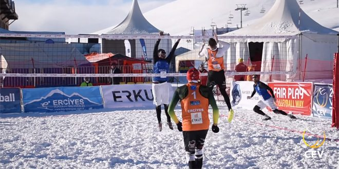 Photo of CEV Snow Volleyball Tour Erciyes – śnieżny turniej