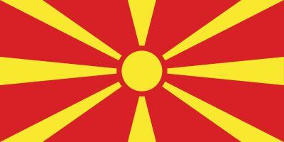 Macedonia Północna_flaga